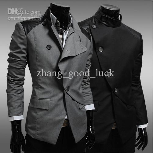2017 Men's Clothing Qiu Dong New Cortex Adornment Fashion Coat ...