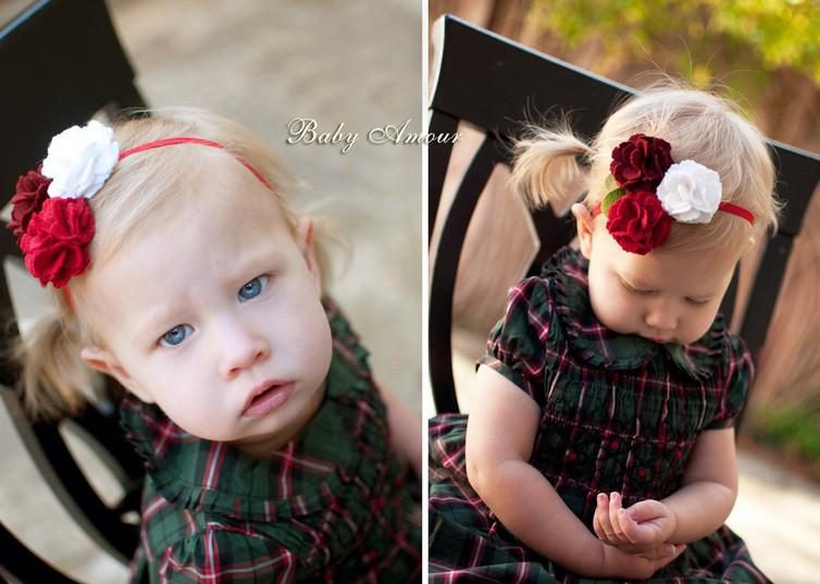Hot 20 stks Baby Amour Baby Hoofdbanden Stereoscopische Bloem Haarband Meisje 12 Stijl Jij keuze