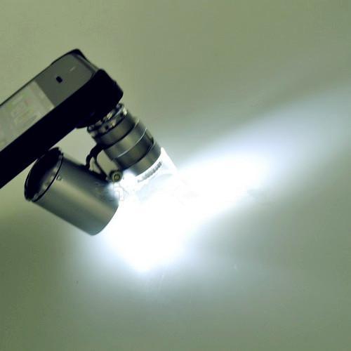 Quantidade limitada Promoção 60x Zoom microscópio Micro Camera Lens para o iPhone 5 / Telefone Celular Móvel 5S