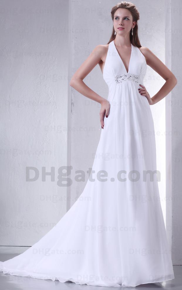 halter wedding dresses cheap   Wedding