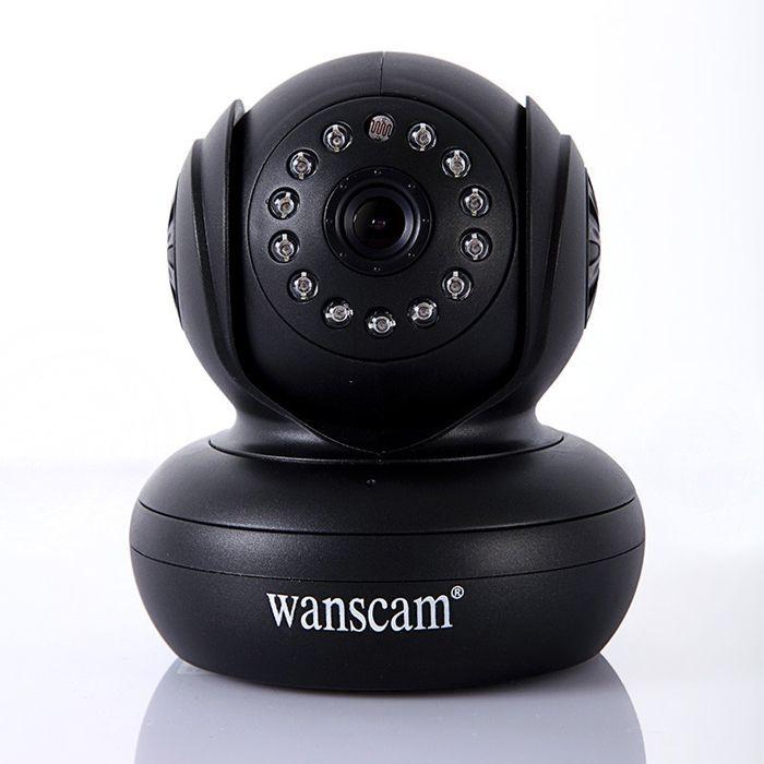 Security Wireless IP Camera 270 Degree P2P function WiFi Internet IR Cam WPA Internet