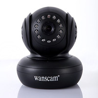 Wholesale Wpa Wireless Wifi Ip Camera - Free Shipping Security Wireless IP Camera 270 Degree P2P function WiFi Internet IR Cam WPA Internet
