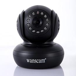 Wholesale Ip Functions - Free Shipping Security Wireless IP Camera 270 Degree P2P function WiFi Internet IR Cam WPA Internet