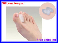 Wholesale Toe Separation - High Quality Silicone Separation Gel Toe Pad Health Protection 50pairs lot