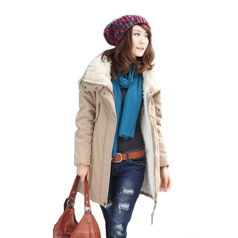Winter Wear: 2017 Hot!autumn And Winter Clothing Female Thicken Cotton