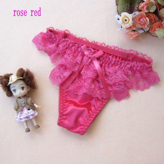 9619 # Girls G-String Thongs T-Back Sexiga Underkläder Underbyxor Kvinnor Tränar Sexiga Lace Underkläder