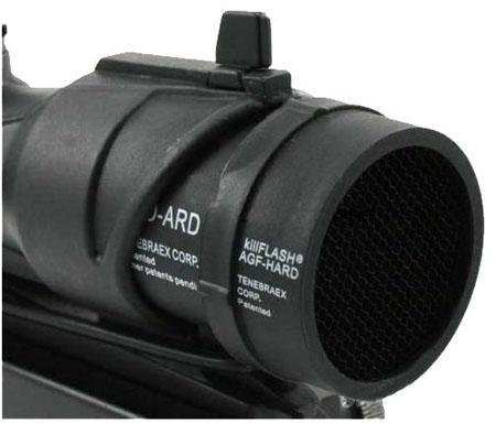 ACOG Matar Flash Anti-Reflexão Capa protetora para escopos ACOG M4 / M16 / AR15