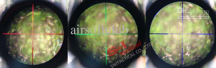 Tactical Sniper 4-16x50ミルドット緑/赤照明リフレソープAO調整