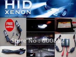 Wholesale Hi Hid Xenon Kit - Auto XENON HID Conversion Kit H4-3 Bi-Xenon Hi Lo beam 4300K-12000K HID xenon Bulbs Hid lamps h4 Hid Xenon Kit
