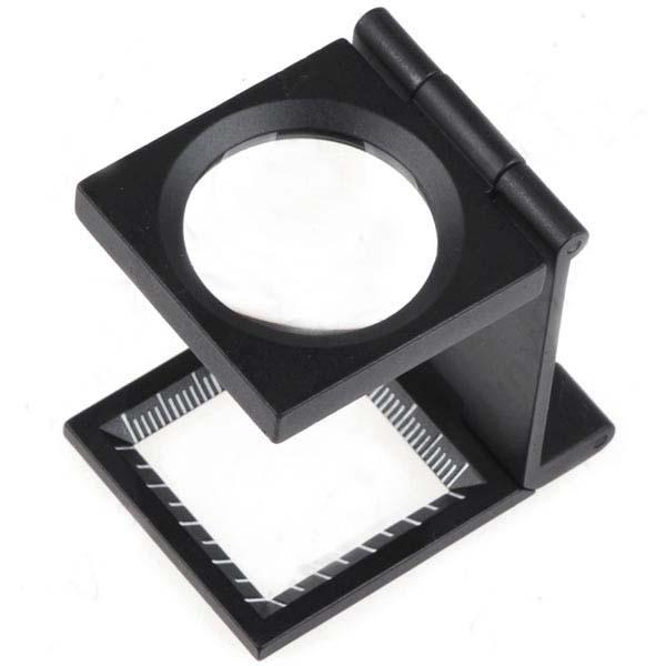 2019 Foldable 50x 28mm Magnifier Loupe Magnifying Glass