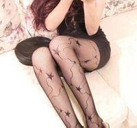 Wholesale Panty Hose Sizing - Hot Sale High Quality Panty-hose And Elasticity Ladies Black Hosiery Stockings Free Size 10pcs a Lot