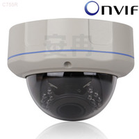 Wholesale Vandalproof Dome - H.264 2.0 Megapixel 1920*1080 Resolution Vandalproof Dome Network IP Camera Onvif Compliant