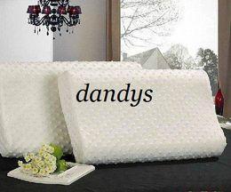 Wholesale Latex Pillows - Free Shipping 1pcs Factory direct massage memory foam pillow,zero stress healthy wave neck me memory