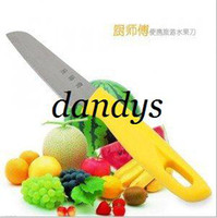 Wholesale 21cm High tech High quality Fruit Vegetable Knife bread knife kitchen chef knife pack in gift box