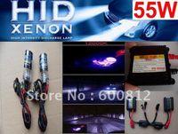 Wholesale Ac Hid Kits - HID HEADLIGHTS XENON HID Conversion Kit AC 55W H7 12000K HID Xenon Kit bulb ballast Xenon HID Lamp