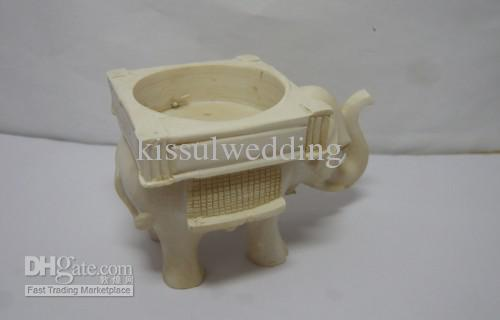 Wedding Elephant candle Holderno tealight .For wedding gift and Promotional Gift hot sale Real Photos