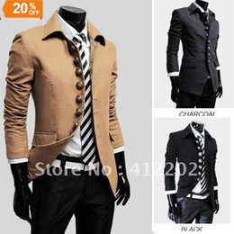 Wholesale Trench Coat For Big Men - Big Sale ! Free shipping Double Breasted Men Long Coat Mens Winter Coat Trench Coat for Men M L XL