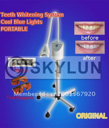 Wholesale Blue Led Light Teeth Whitening - Top Selling Teeth Whitening lamp Four LED blue light source,fast delivery, remote control+CE certification+Free Shipping