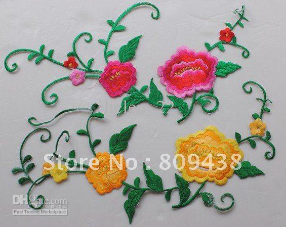 Image is loading New-Dog-Embroidered-Applique-Iron-On-Patch-design-