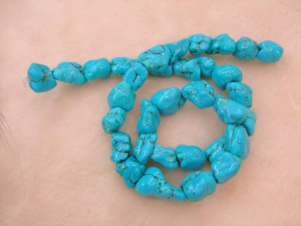 new fashion turquoise BEAD cham style dangle chain style.BTS-087