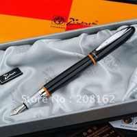 Wholesale Picasso Rollerball Pen - Black Silver Montmartre Financial Pen Fountain Pens Picasso Series 907