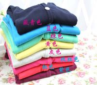 Wholesale kids cardigan sweater girls - Fashion Clothing Wear Children Shirts Boy And Girl Cardigan Kids Sweaters Long Sleeve Tops Shirts