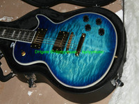Wholesale Electric Guitar Les - Chinese guitar custom shop guitar les custom Electric Guitars Blue burst