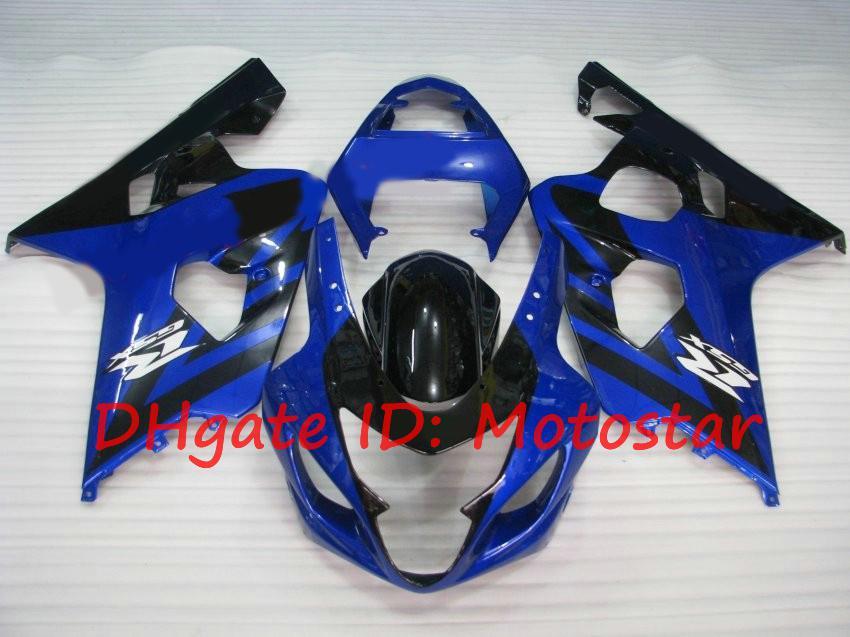fairing kit for SUZUKI 2004 2005 GSXR600 GSXR750 K4 04 05 GSXR 600 GSX-R 750 Blue black S64N