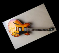 Wholesale 48hr Dispatch - Specail Off- semi hollow 335 model electric guitar 5 one piece n sunburst in stock 48hr Dispatch
