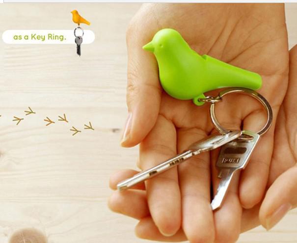 Love Birds Birdhouse Sleutelhanger Duo Sparrow Bird Sleutelhanger Twee vogels Nieuwigheid Woondecoratie Valentines