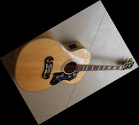 Wholesale Guitar Ebony Board - VS 20TH ANNIVERSARYJ200 Acoustic Electric Guitar maplebody,Ebony board,one piece neck fishman 120419