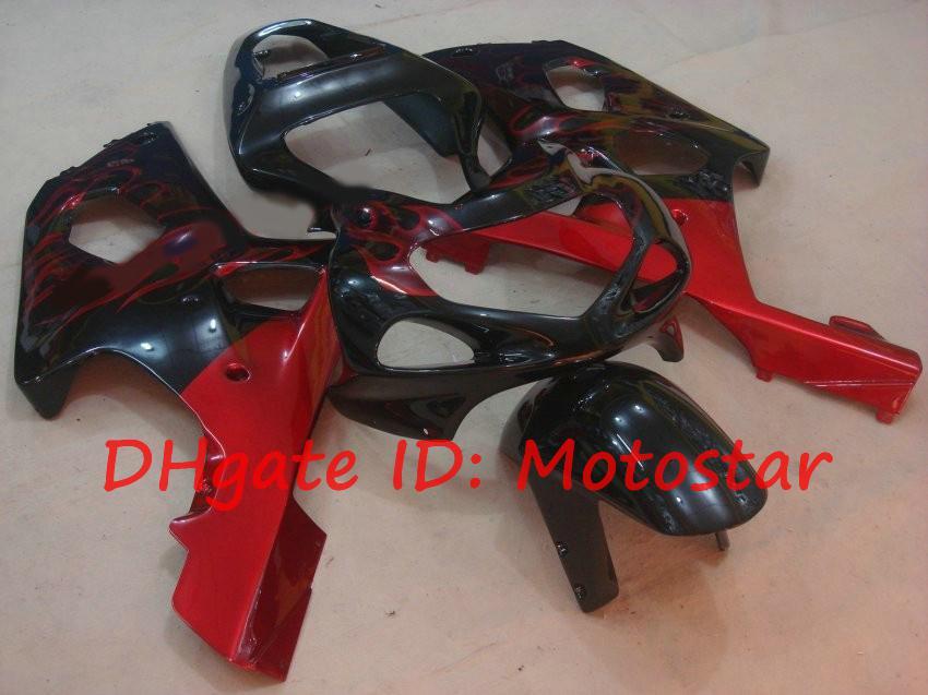 Red flame Fairing kit for SUZUKI 2000 2001 2002 GSX-R1000 01 02 00 GSXR 1000 K2 GSXR1000 GSX R1000