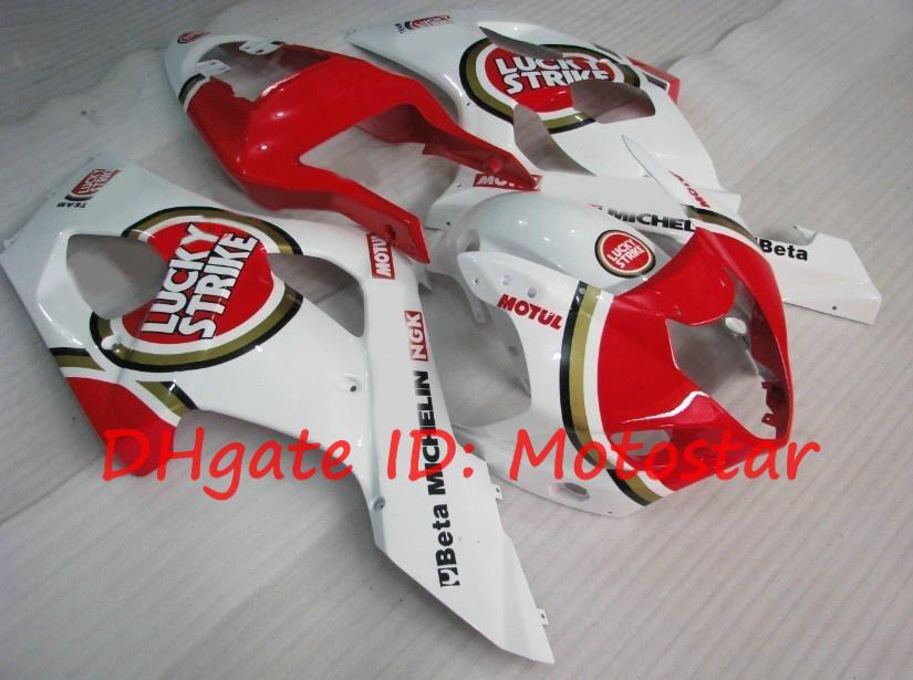 Lucky Strike voor 2003 2004 SUZUKI GSX-R1000 03 04 GSXR 1000 K3 GSXR1000 R1000 FUNINGSET S13 VALERINGSKITS 9