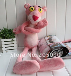 Wholesale Pink Panther Plush Gifts - toy pink panther plush doll stuffed soft toys hot sale plush doll 100cm size gift toy free shipping