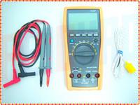 Wholesale Ac Dc C - F01729 VC97 31 2 Auto range Digital multimeter analog bar AC DC R C F Temp 3 3 4,compared with FLUKE