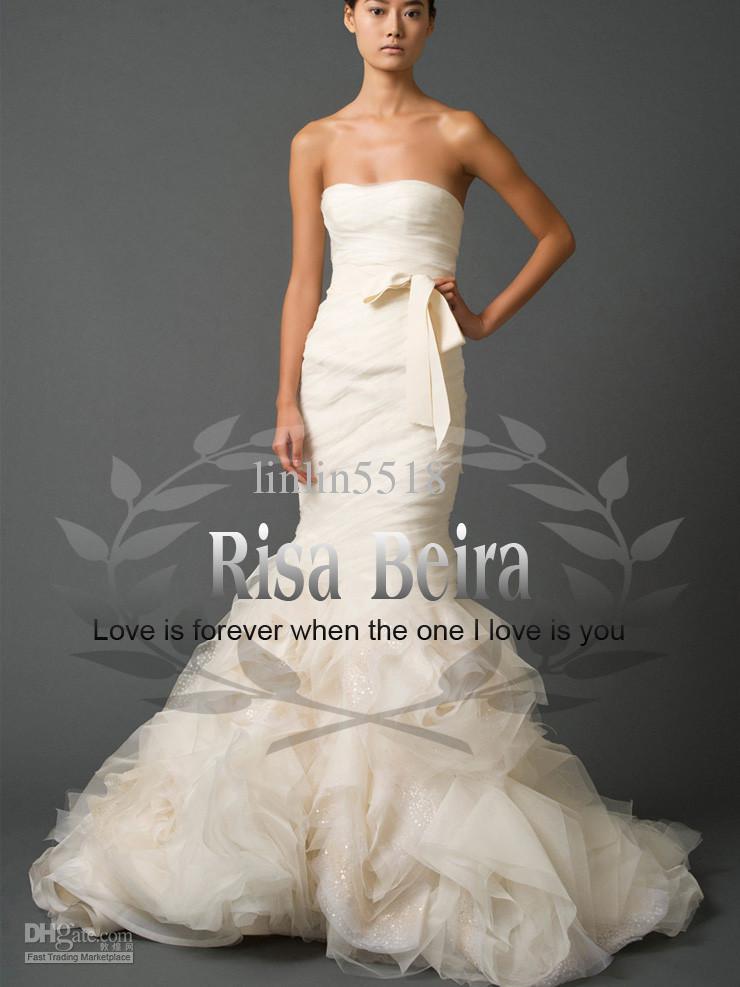 organza mermaid wedding dresses | Wedding