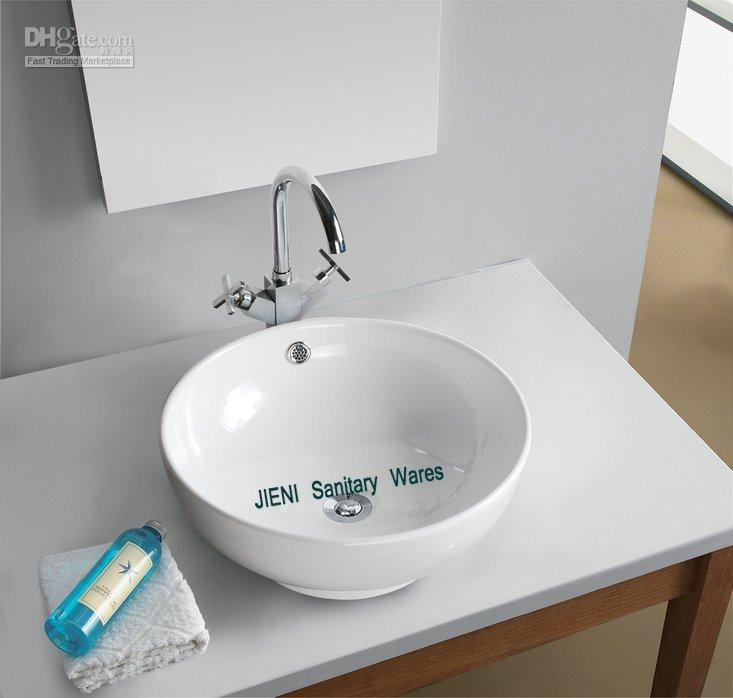 2018 Ceramic Art Bathroom Round Bowl Wash Basin Sink B7018b From Soon,  $115.29 | Dhgate.Com