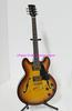 New Arrival Classic Semi Hollow ES335 Jazz Electric Guitar Honey Burst Free Shipping C0044