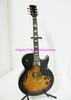 Best OEM Guitar Newest Sunburst Hollow Jazz Guitar Chinese Guitar New Arrival Wholesale C0047