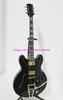 Wholesale Black ES335 With Bigbys High Quality Jazz Guitar Wholesale New Arrival HOT C0049