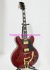 Red Classic Semi Hollow 335 Jazz Guitar with Bigbys Free Shipping Musical instruments C0050