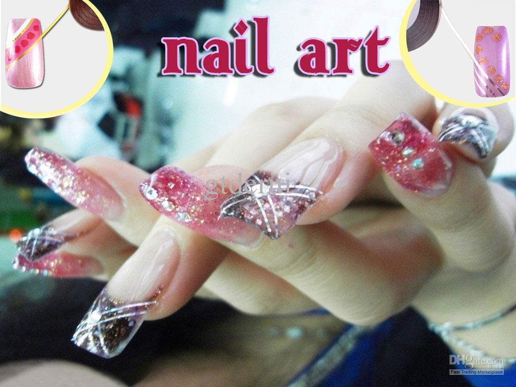 Pretty roll striping tape line striping tape line 3d nail art see larger image prinsesfo Choice Image