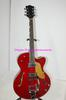 Best Selling New Arrival Red Falcon Jazz Guitar with Bigbys High Quality OEM Free Shipping C0066