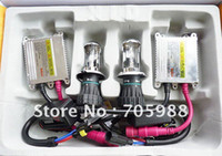 Wholesale Hi Lo Beam Hid Kit - FREE SHIPPING BI-XENON H4 Hi Lo beam( 9004 9007 h13) SUPER Slim XENON HID KIT 35W H4 high and low beam auto headl