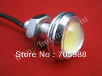 Wholesale Eagle Eye Day - 10 piece WHITE BLUE RED AMBER YELLOW 18mm SLIM Eagle Eye DRL day time running lights LED drl daytime running car lightsHigh Power Whi