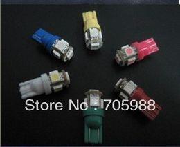Wholesale Bulbs Dashboard - 20% OFF ! BIG DISCOUNT ! free ship !100 *T10 5050 5SMD LED bulbs car auto lights 168 194 Car Turn Signal Side Interior Dashboard Bulb Lights