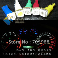 led door button prices - 20 pieces T5 5050 chip bright high power car led instrument tray lamp button indicator lamp