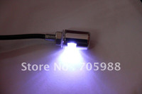 Wholesale Pair License Plate - One pair White Motorcycle Auto Truck License Plate Bolt Light LED motor lights led bulbs