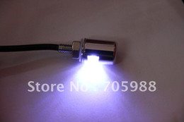 Wholesale Truck Light Bulbs - One pair White Motorcycle Auto Truck License Plate Bolt Light LED motor lights led bulbs