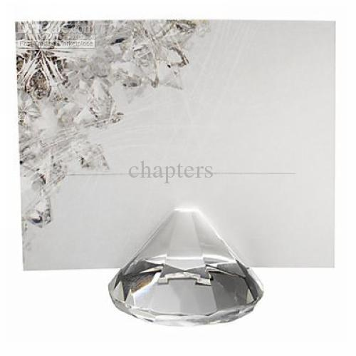 Diamond Shaped Place Card Holders Set Of 4 For Wedding Favors